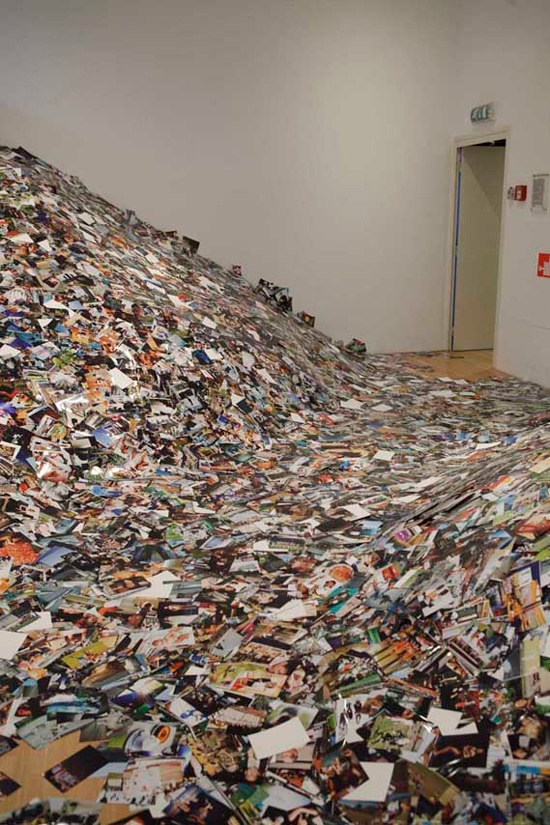 Drowning In Photos: Over 1,000,000 Flickr Photographs Printed