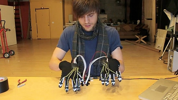 Piano Playing Electronic Gloves