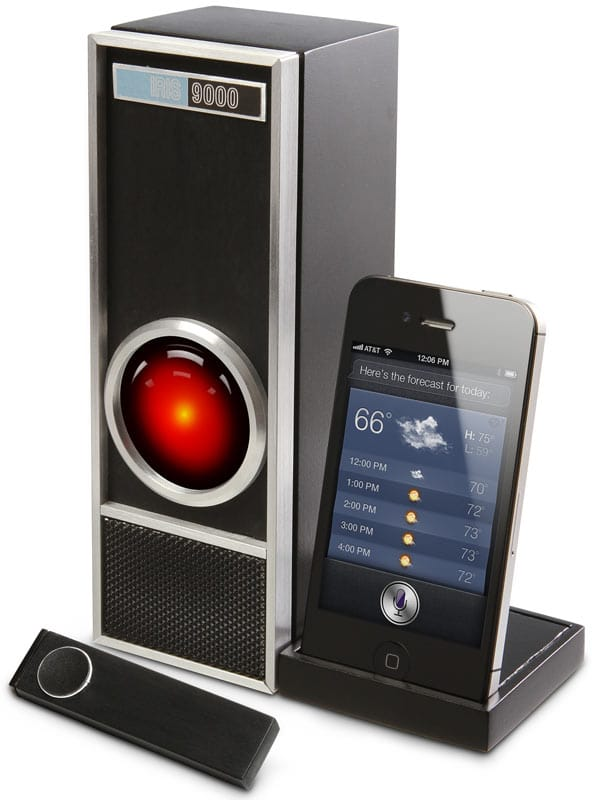 HAL9000 iPhone Siri Dock For Retro Fandom