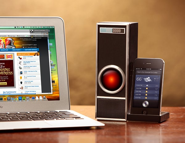 HAL9000 iPhone 4S Siri Dock