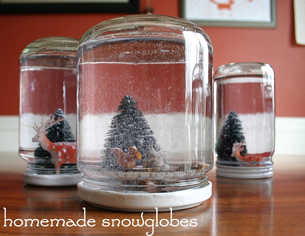 DIY Winter Wonderland Holiday Craft