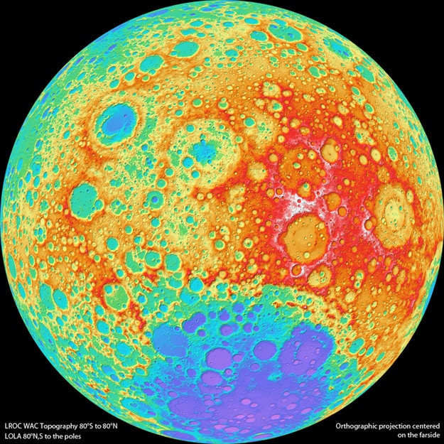 The Highest Resolution Photograph Of The Moon Ever Taken