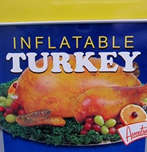 The Inflatable Turkey: For People Short On Time This Season