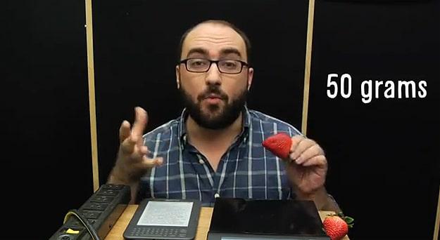 Entire Internet Weight Straberries