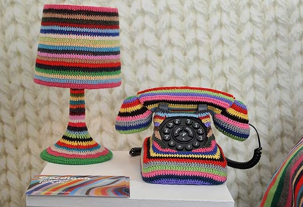 Room With Knitted Theme