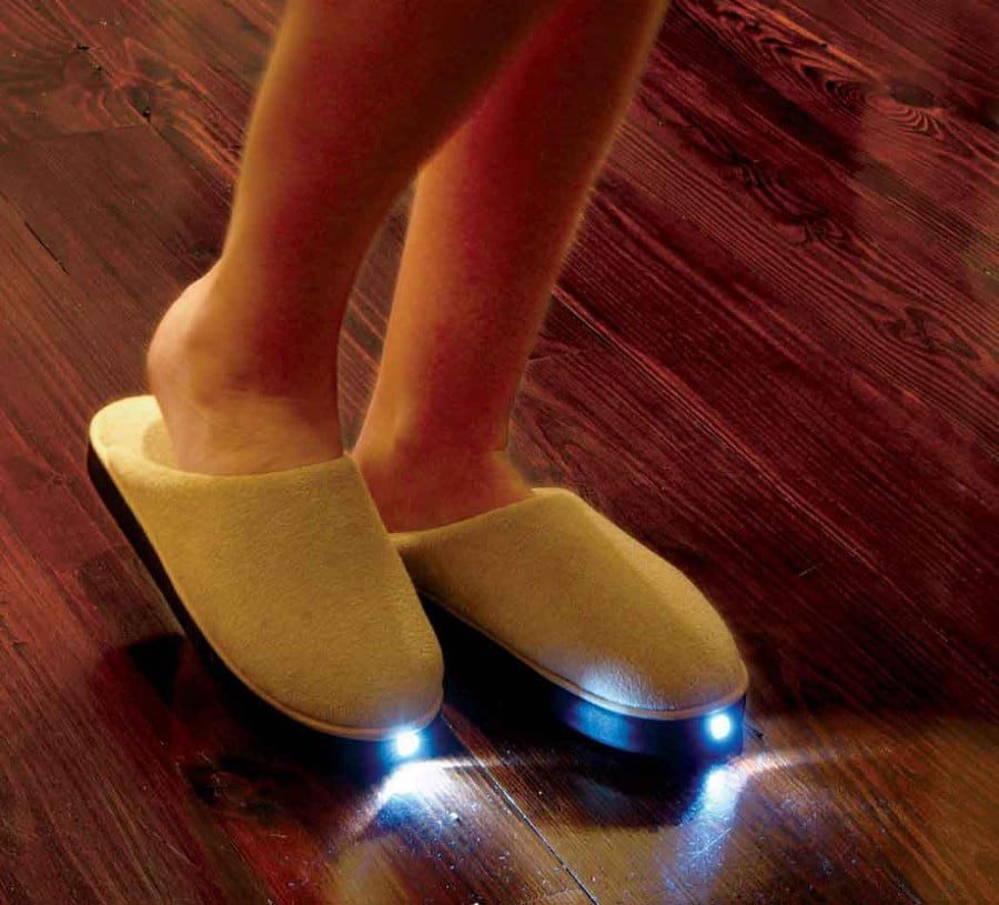 LED Slipper Invention Night Accessory