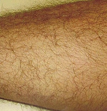 The Fascinating Font Created From Leg Hair