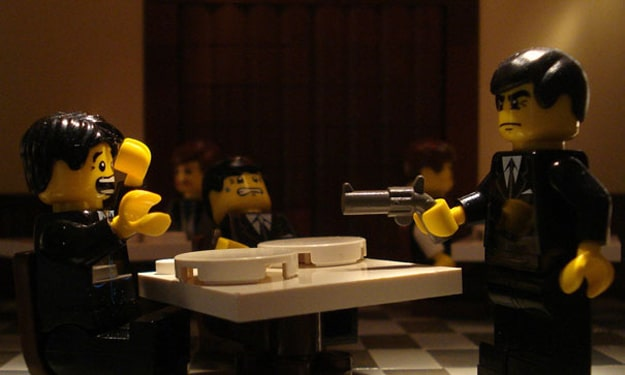 Movies Recreated In Lego