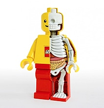 The Anatomy Of A Lego Minifigure