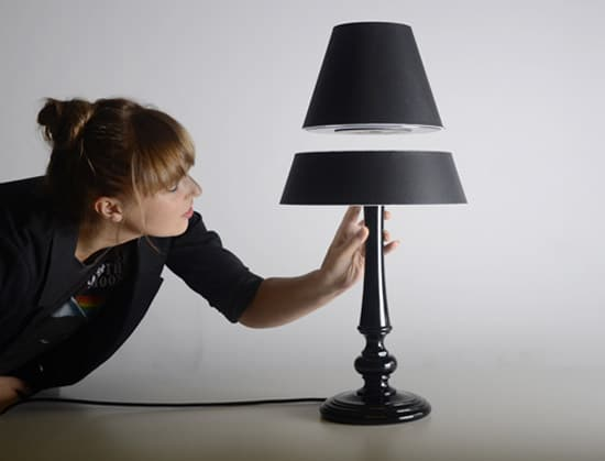 Levitating Silhouette Lamp Concept Idea