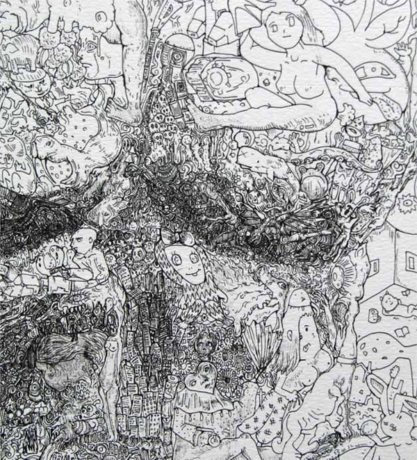 Manic Doodles By Sagaki Keita