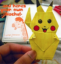 How To: Make An Origami Pikachu