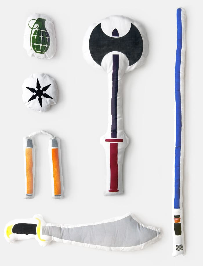 Pillow Fight Weapons Soft Design