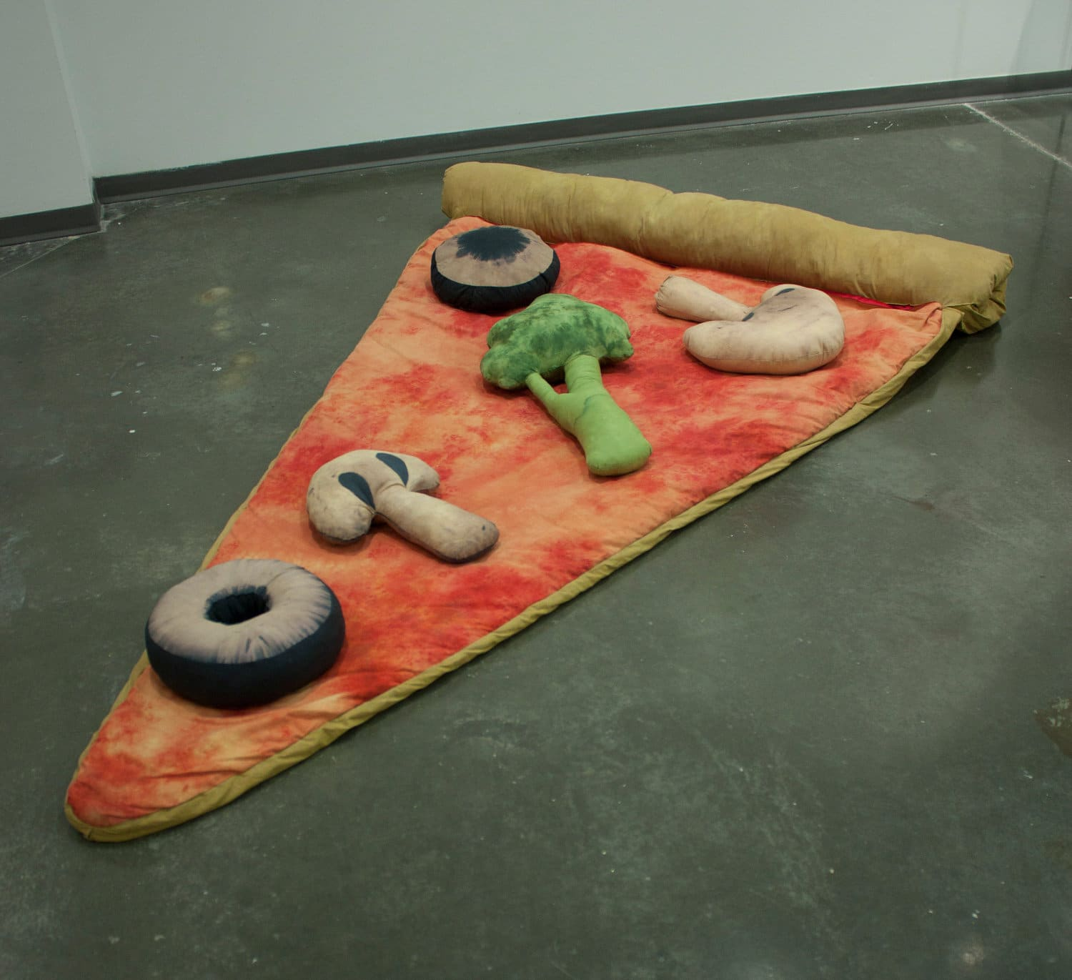 Pizza Slice Sleeping Bag Concept