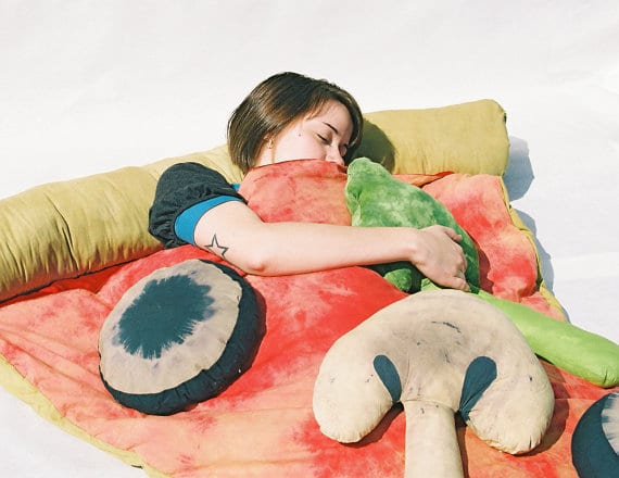 Pizza Slice Sleeping Bag Concept