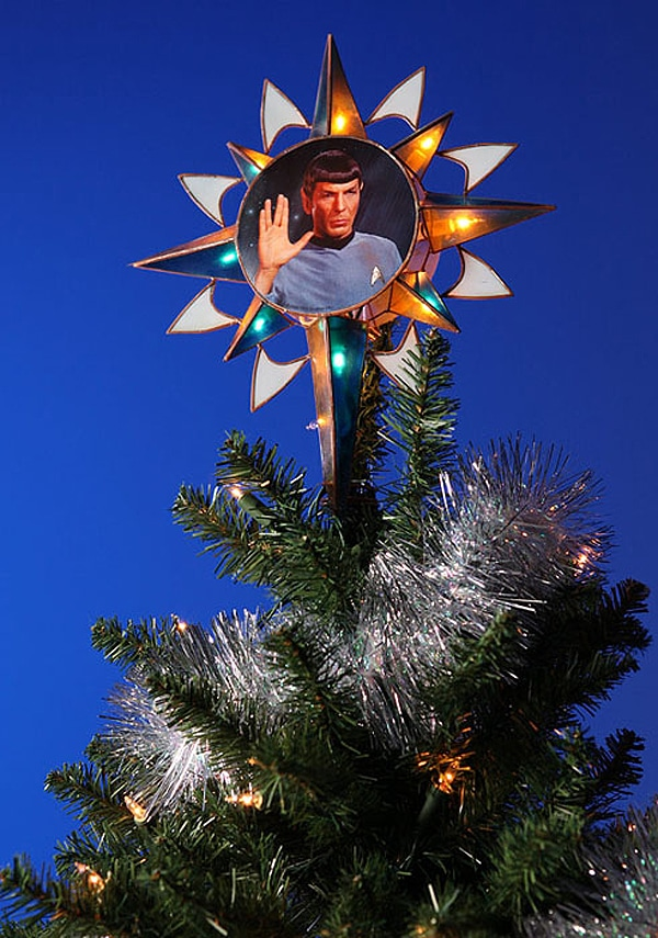 For A Trekkie Holiday: A Spock Christmas Tree Topper | Bit Rebels
