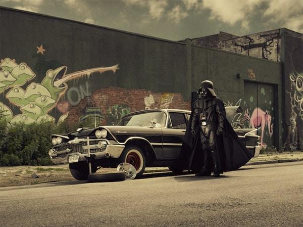 Star Wars Grandparent Cosplay Photography