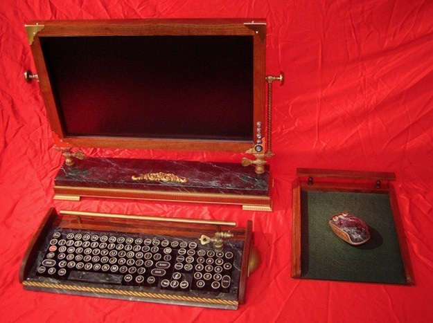 Computer Steampunk One Of Kind