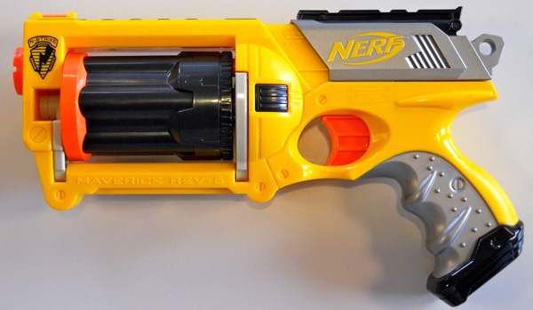 Nerf Maverick Steampunked Design