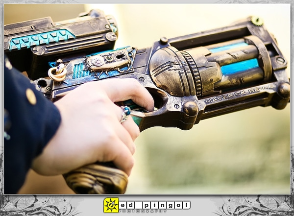 Toy Guns Steampunked Designs