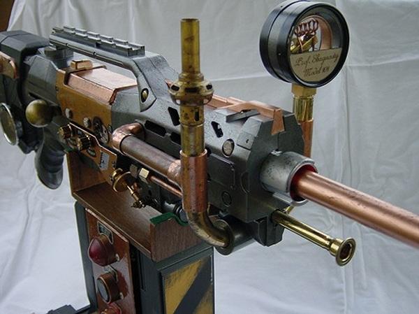 Toy Gun Steampunked Designs