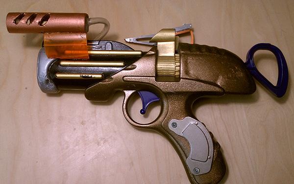 Toy Guns Steampunked Design