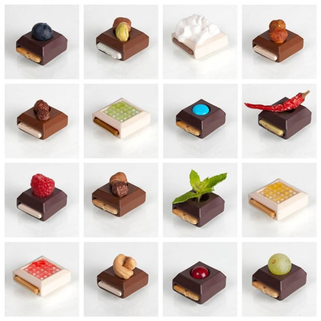 Mix and Match Creative Chocolates