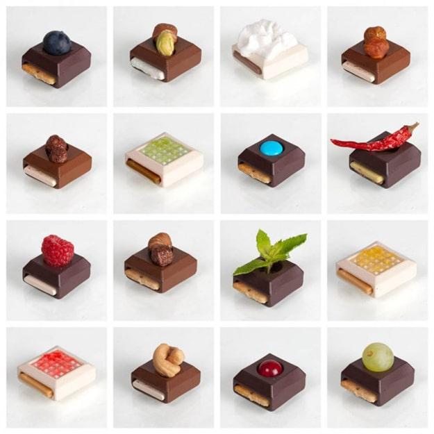 Mix and Match Creative Chocolates