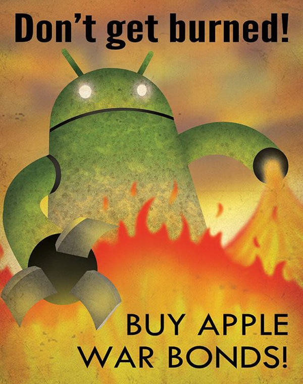 Buy Apple Android Propaganda Poster