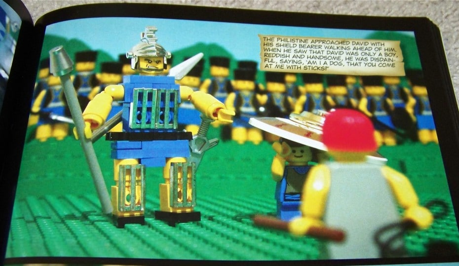 The Brick Bible Lego Builds