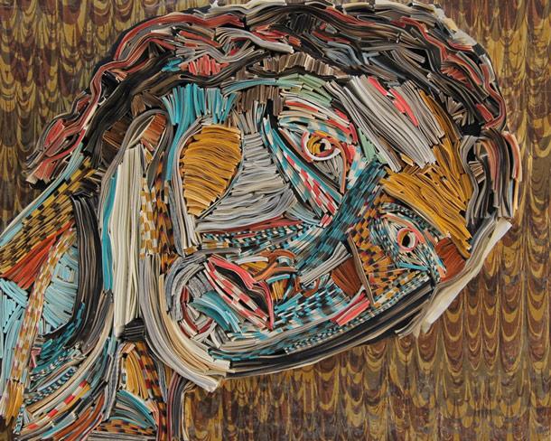 Thrilling Papercraft Artwork Sculpture Design