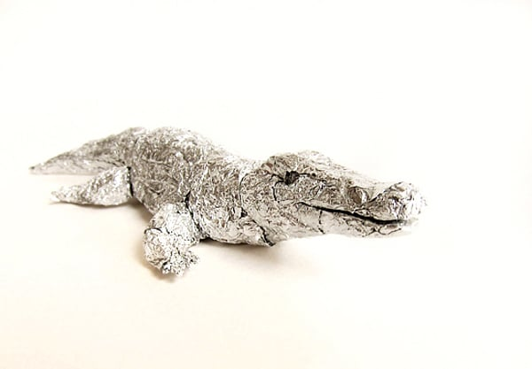Creative Aluminum Foil Animals