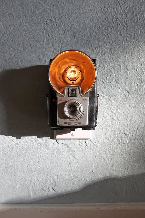 Vintage Cameras Redesigned As Fabulous Night Lights
