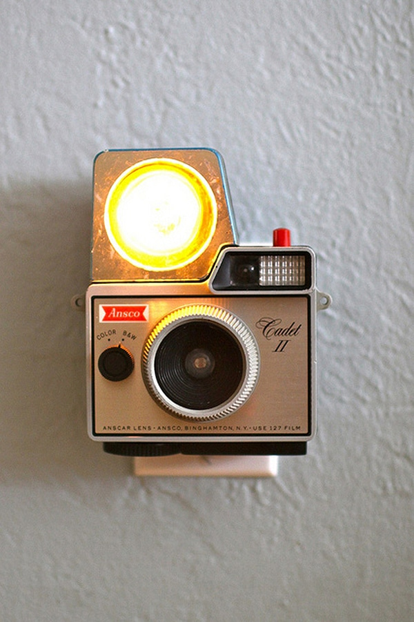 Flash Cameras Redesigned Night Lights