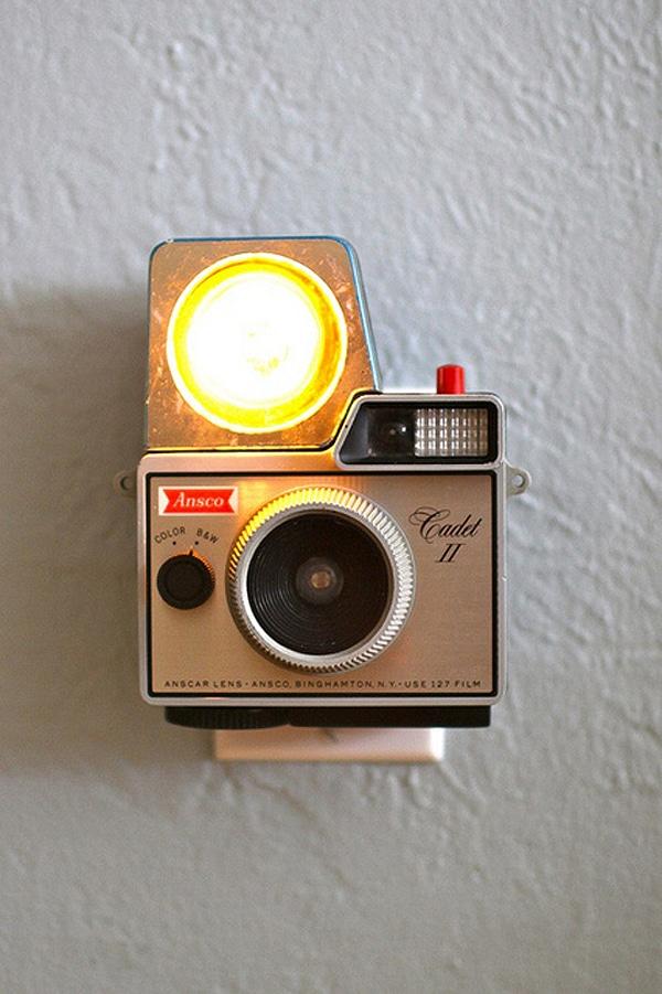 Flash Cameras Redesigned Night Lights