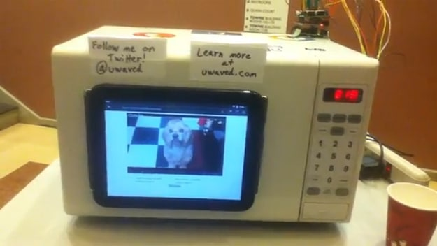 µWave: The Microwave YouTube Hack
