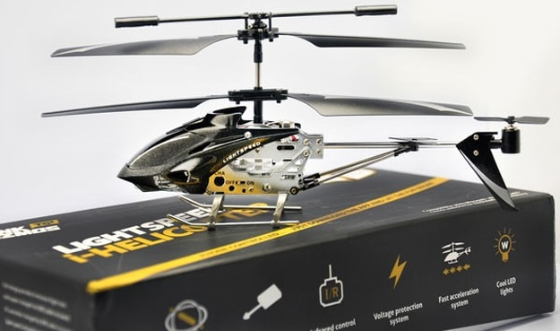 iPhone Android Helicopter App