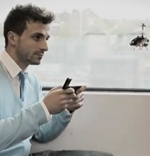 i-Helicopter: Turbo Charged iPhone Remote Control Helicopter