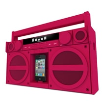 iHome Stereo Boombox: Go Retro With Your iPhone