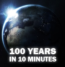 100 Years Of Significant Events In 10 Minutes [Video]