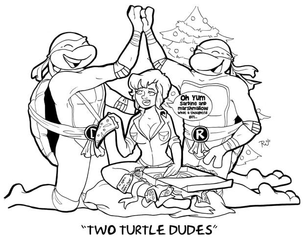 Teenage Mutant Ninja Turtles Christmas