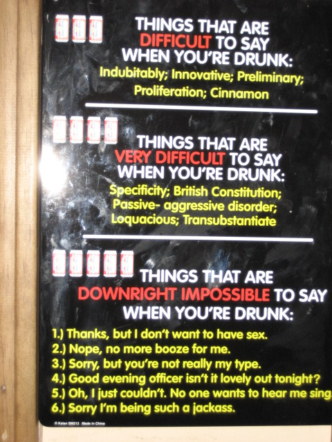 16 Things Impossible To Say When You Are Drunk