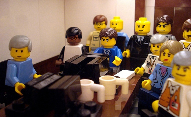 11 Memorable 2011 News Stories Recreated In Lego