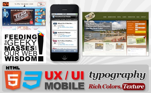 Top 5 Web Design Trends For 2012