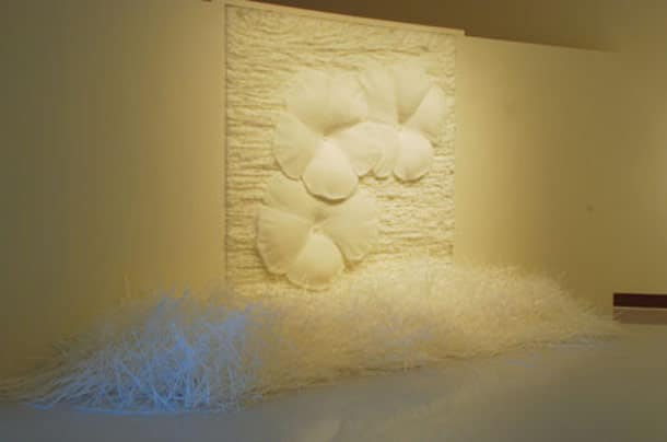 Air Soft Straw Sculpture Artwork