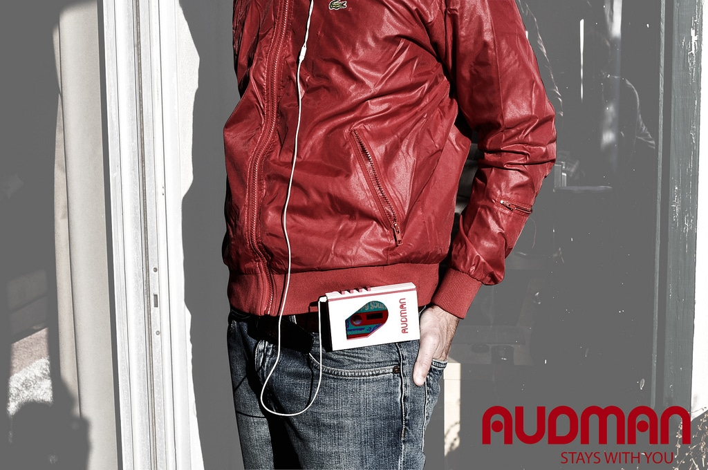 Audman: Turns Your iPhone Into A Walkman