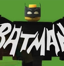 Retro Brilliance: 1966 Batman Intro Recreated In Lego