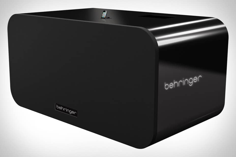 iNuke Boom: The World's Only 700 Pound iPhone Dock