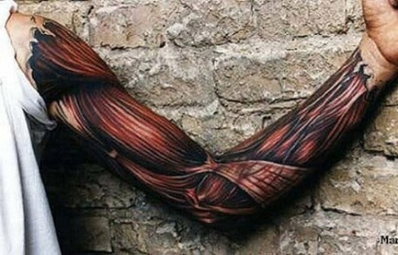 12 Most Unbelievable Ripped Skin Tattoos