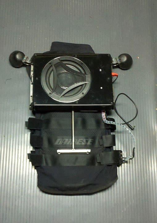 Boombox Backpack Speaker Vest Invention